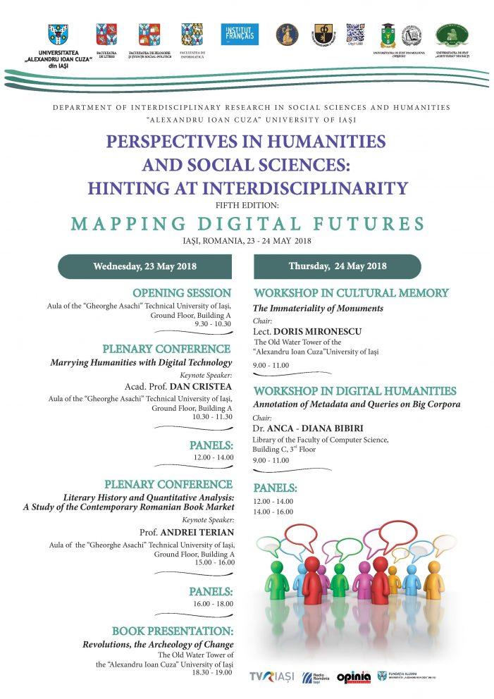 Conferința Perspectives in Humanities and Social Sciences: hinting at interdisciplinarity, ediția a V-a
