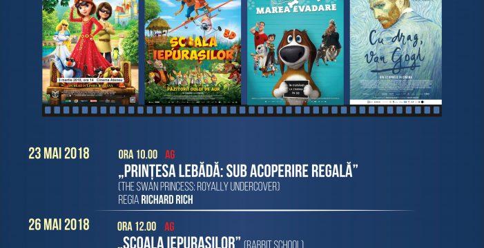 Programul cinematografului Ateneu în perioada 26-27 mai