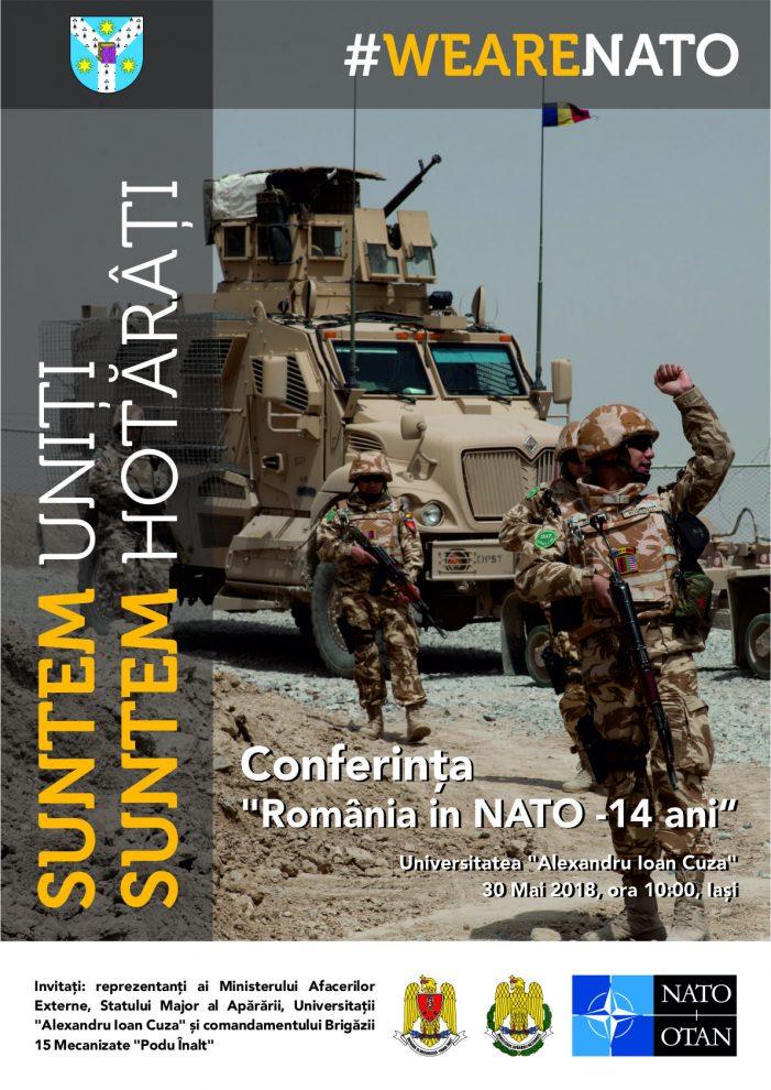 """Conferinţa """"România în  NATO – 14 ani"""""""