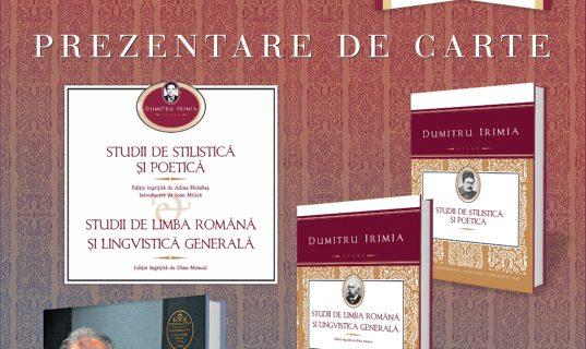 Triplă lansare de carte la Biblioteca Centrală Universitară Iași