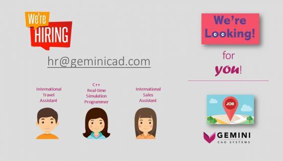 Gemini CAD Systems recrutează asistent pentru călătorii și delegații internaționale