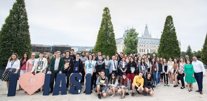 Zeci de liceeni din toată țara au făcut cunoștință cu universitățile ieșene