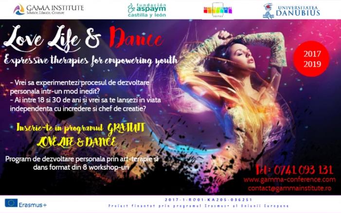 Programul de dezvoltare personală  LOVE Life & Dance