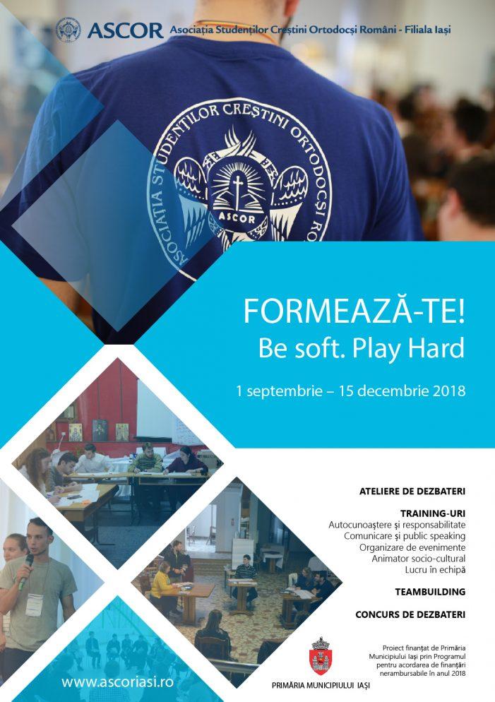 Un nou proiect de formare pentru voluntarii ASCOR IAȘI