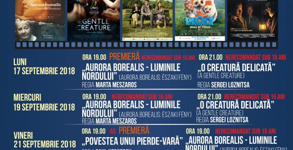 Programul cinematografului Ateneu în perioada 24-28 septembrie 2018