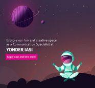 Yonder caută Communication Specialist