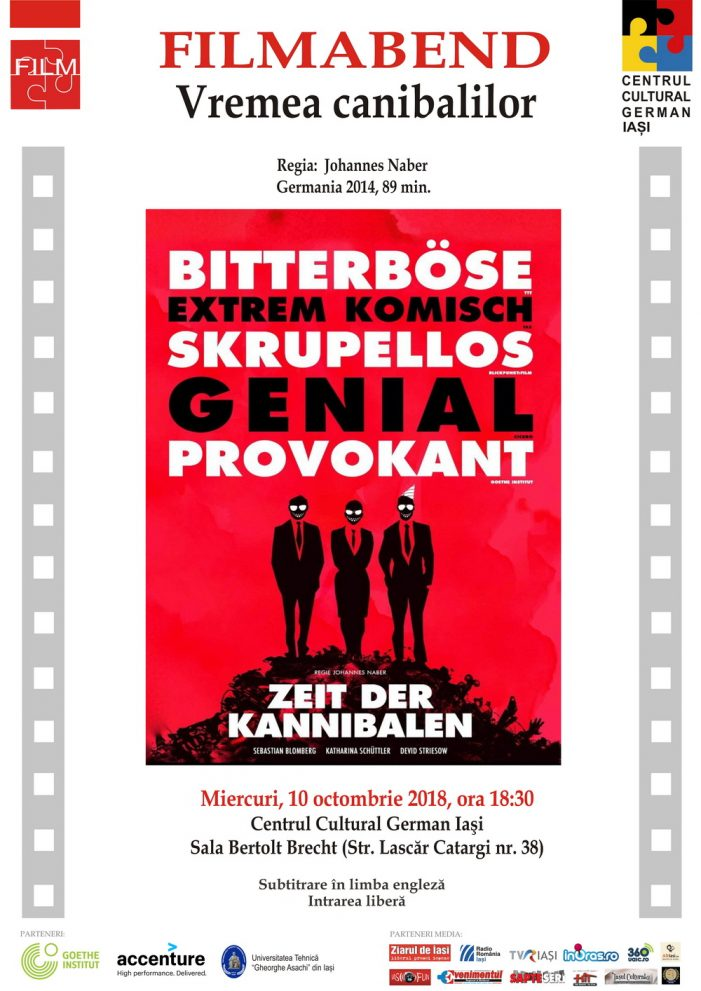 """Seara de film german """"Vremea canibalilor"""""""