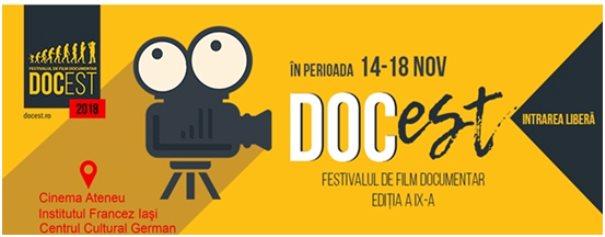 Festivalul de Film Documentar DocEst revine la Iași