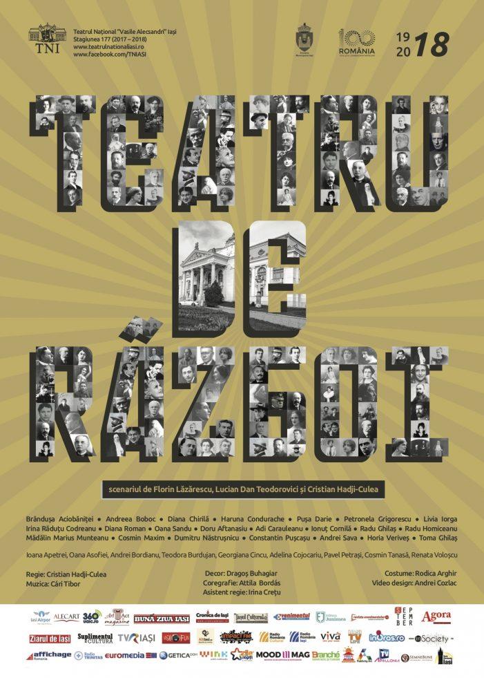Spectacol extraordinar cu ocazia Centenarului la Teatrul Național din Iași