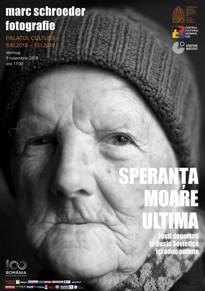 """EXPOZIȚIE DE FOTOGRAFIE: """"Speranța moare ultima. Foști deportați în Rusia Sovietică își aduc aminte""""  Artist fotograf: Marc Schroeder"""