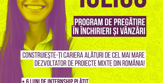 Sales Program at IULIUS: program de dezvoltare profesională în domeniul închirierilor și vânzărilor