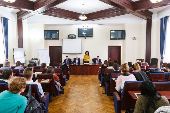 Conducerea UAIC s-a întâlnit cu reprezentanții studenților