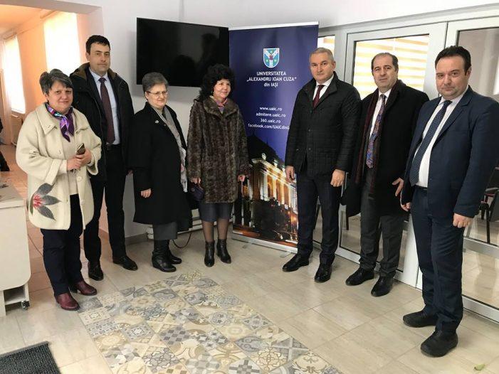 Vicepreședintele Curții de Conturi a României a vizitat Centrul de Învățare al UAIC