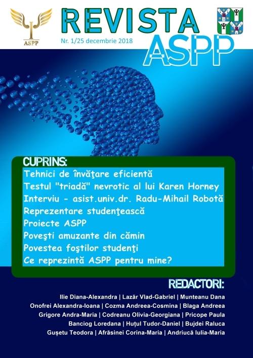 Asociaţia Studenţilor Psihologi şi Pedagogi și-a lansat propria revistă