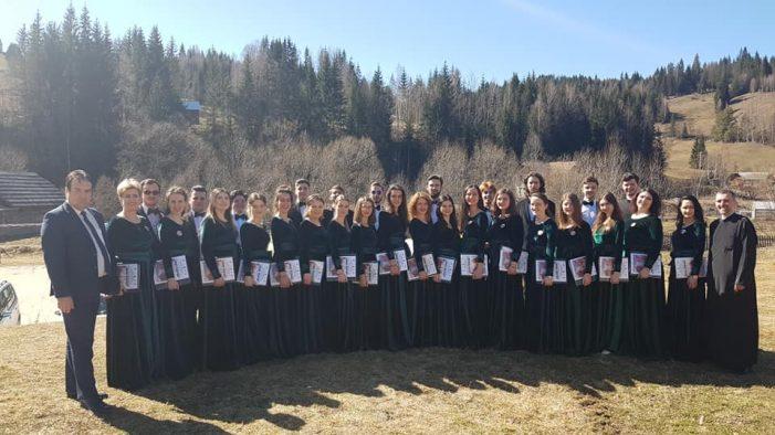 Corala Universitas, câștigătoare a unui festival – concurs național de muzică corală religioasa ortodoxă