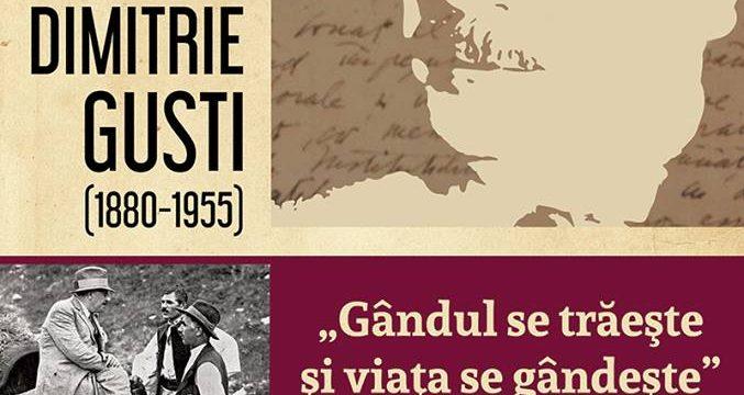 """Expoziție de carte """"Dimitrie Gusi"""" – Gândul se trăeşte şi viaţa se gândeşte"""