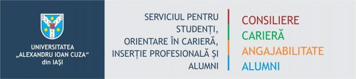 """Serviciul pentru Studenți și Absolvenți a organizat panelul de discuții """"Cum fac primii pași către viitoarea mea carieră"""""""