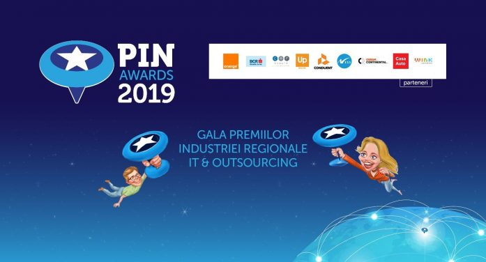 62 de nominalizări la PIN 2019, gala premiilor industriei regionale de IT & Outsourcing