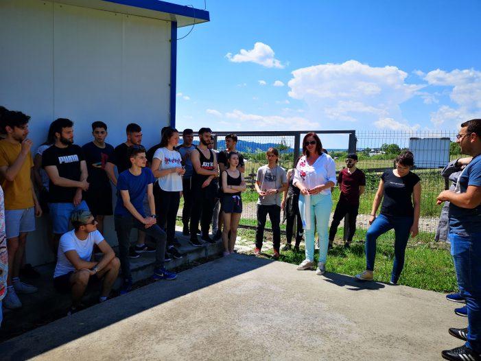 Studenții Facultății de Geografie și Geologie, vizită de studiu la Societatea Națională a Apelor Minerale – Sucursala Nord – Vatra Dornei