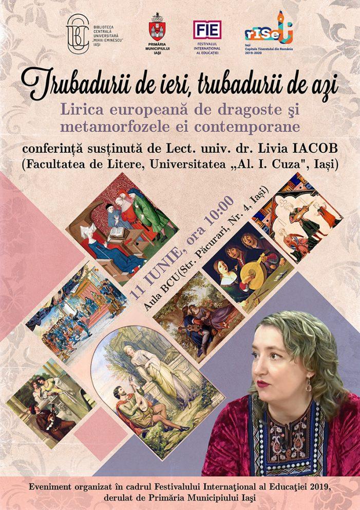 Conferinţă FIE susţinută de lect.univ.dr. Livia IACOB