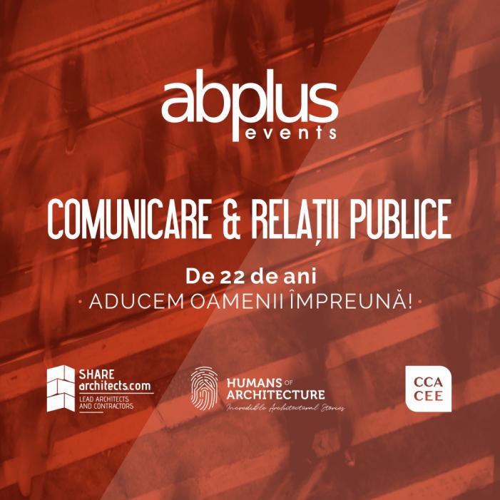 ABplus Events angajează specialist Comunicare & Relații publice