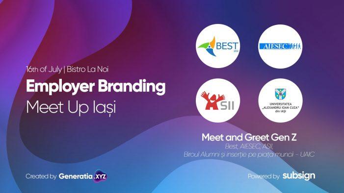 Nevoile și dorințele Generației Z, discutate în cadrul Employer Branding Meetup #6