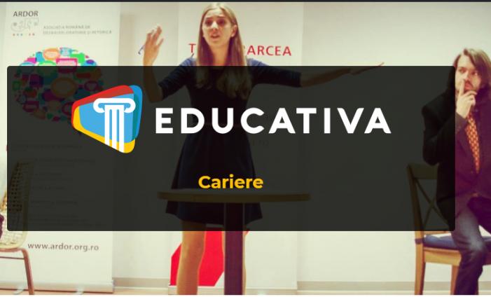 Educativarecrutează. Posturi disponibile pentru studenții și absolvenții UAIC