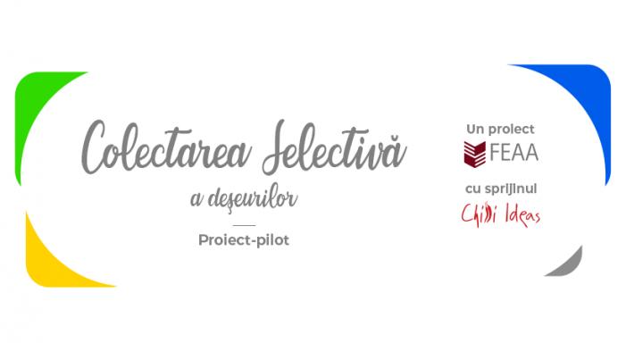FEAA Iași și Chilli Ideas implementează un proiect pilot de colectare selectivă a deșeurilor