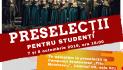 Corala UNIVERSITAS organizează preselecții pentru studenții UAIC