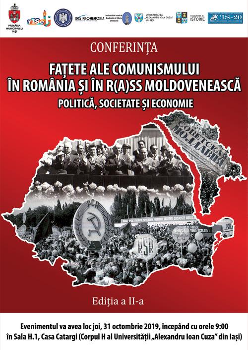 """Conferinţa """"Faţete ale comunismului în România şi în R(A)SS Moldovenească"""""""