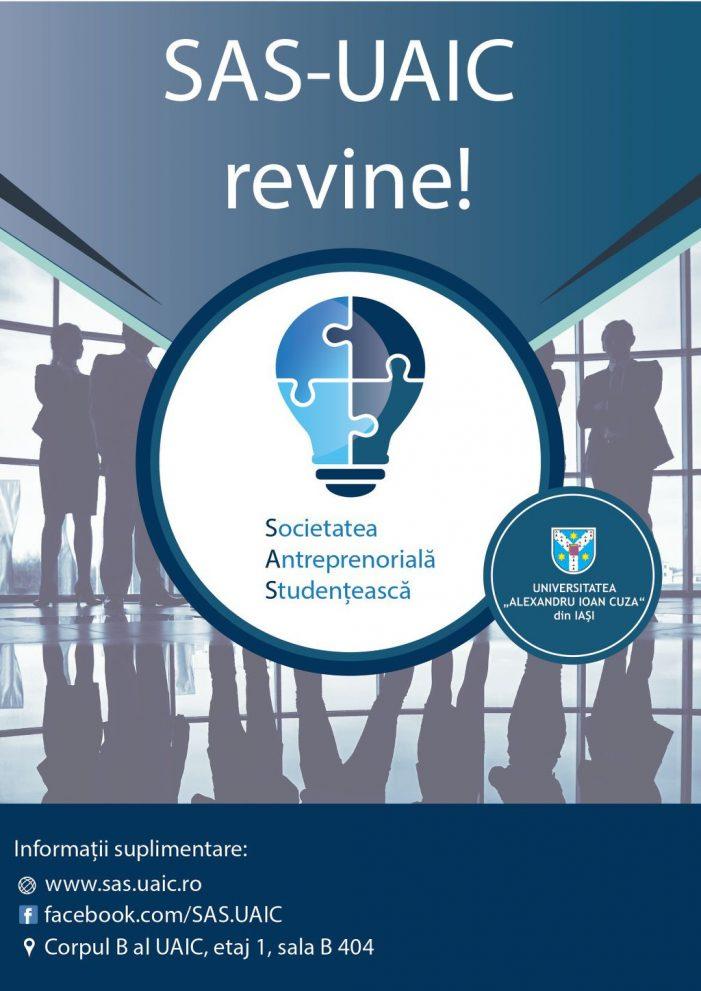 Cursuri gratuite de antreprenoriat pentru studenții UAIC