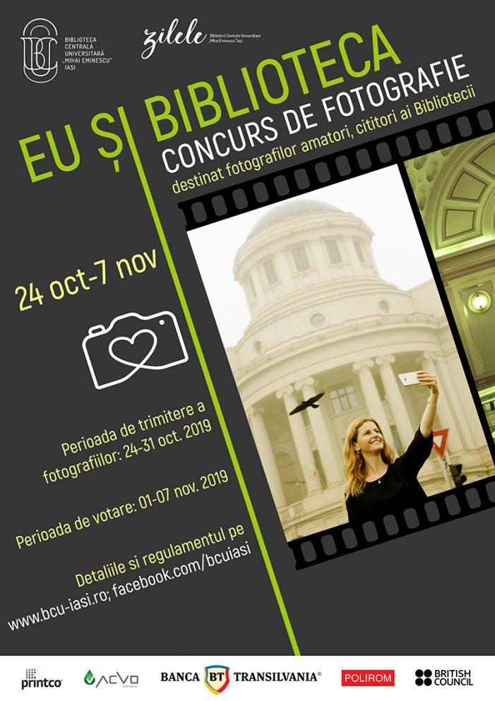Concurs de fotografie lansat de BCU Iași
