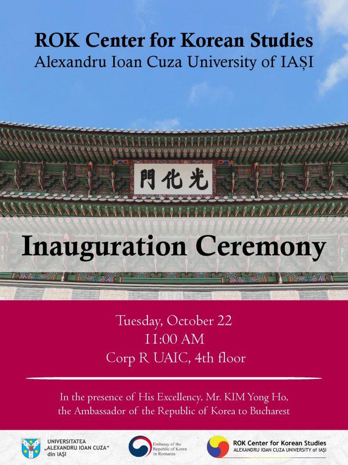 Ceremonia de inaugurare ROK Center