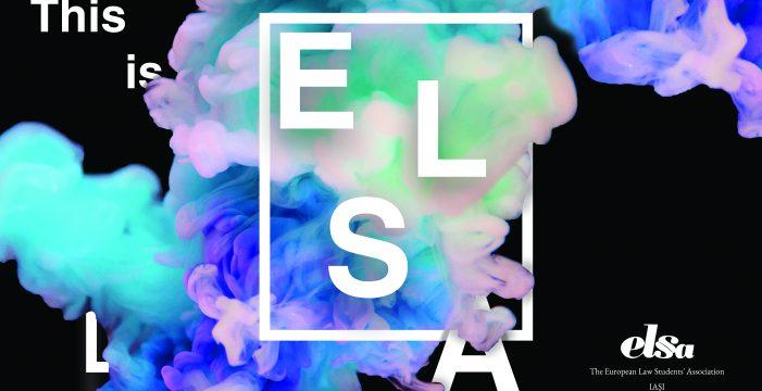 ELSA, filiala Iași, se prezintă pentru studenții din anul I