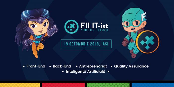 FII IT-ist, la a 3-a ediție