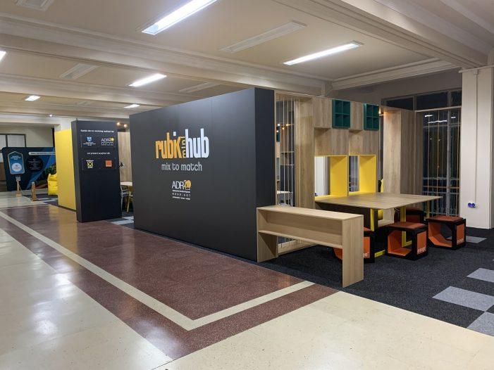 Cum arată Rubik miniHub, primul spațiu de co-working studențesc din Iași