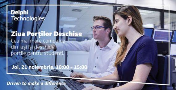 DELPHI Technologies organizează Ziua Porților Deschise pentru Studenți