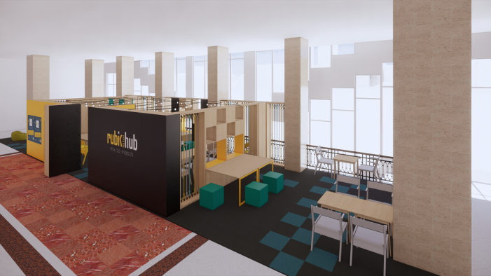 Rubik miniHub, primul spațiu de co-working din Campusul UAIC