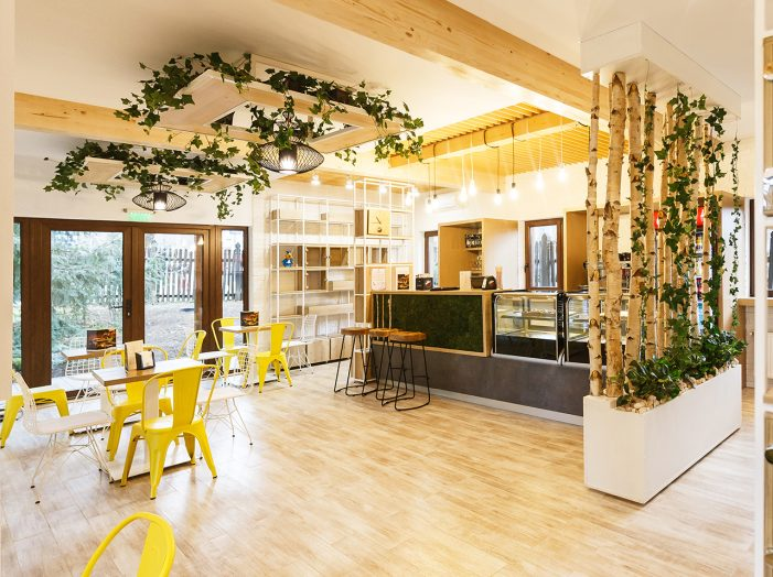 Ceainăria din Grădina Botanică e deschisă publicului