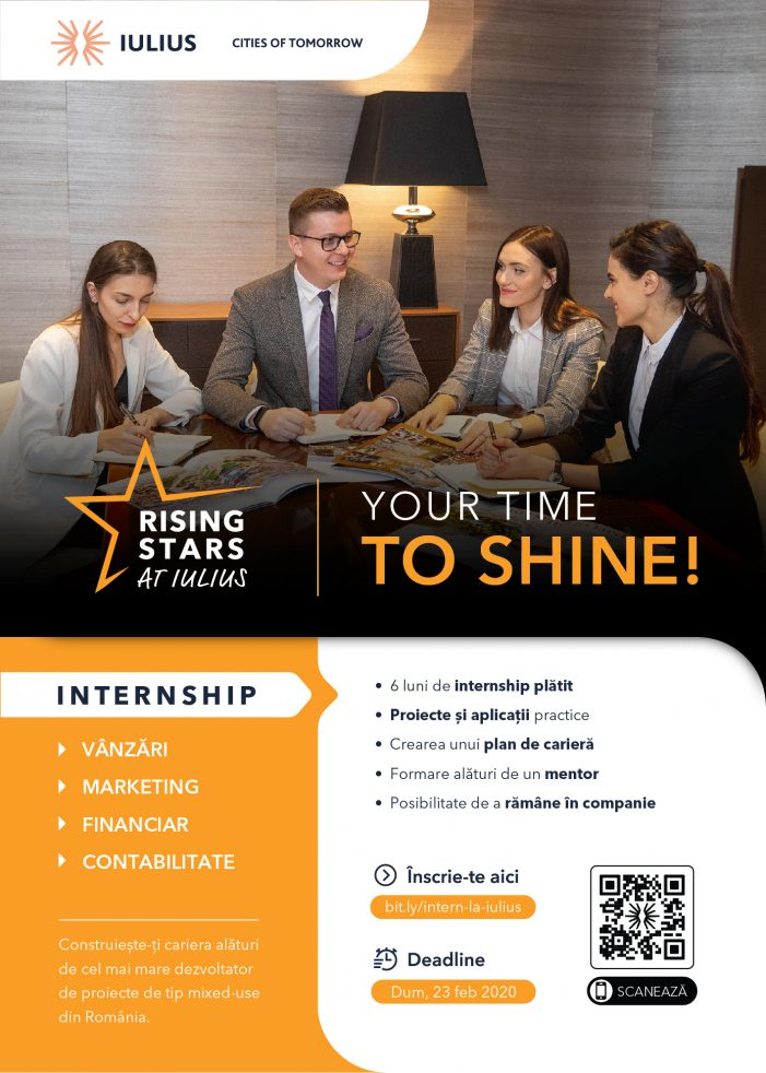 """Programul de internship """"Rising Stars at IULIUS"""""""
