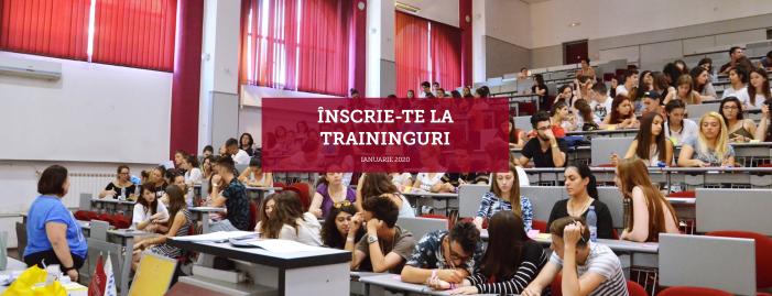 Traininguri gratuite pentru studenții UAIC în ianuarie 2020