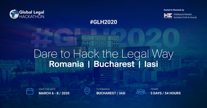 Au început înscrierile la Global Legal Hackathon (GLH) România, cel mai mare hackathon juridic din lume