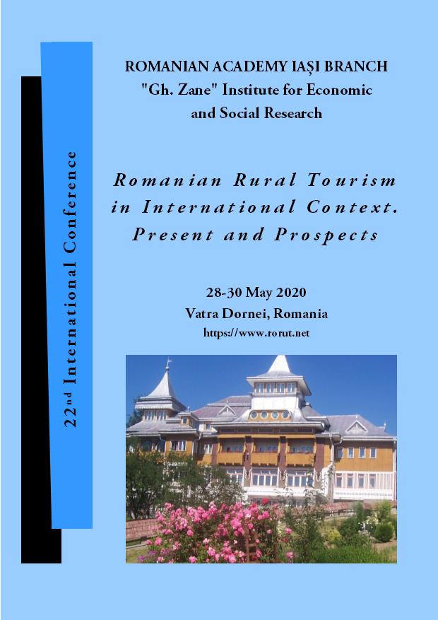 """Conferința internațională """"Turismul rural românesc în context internațional. Actualitate și perspective (rorut)"""""""