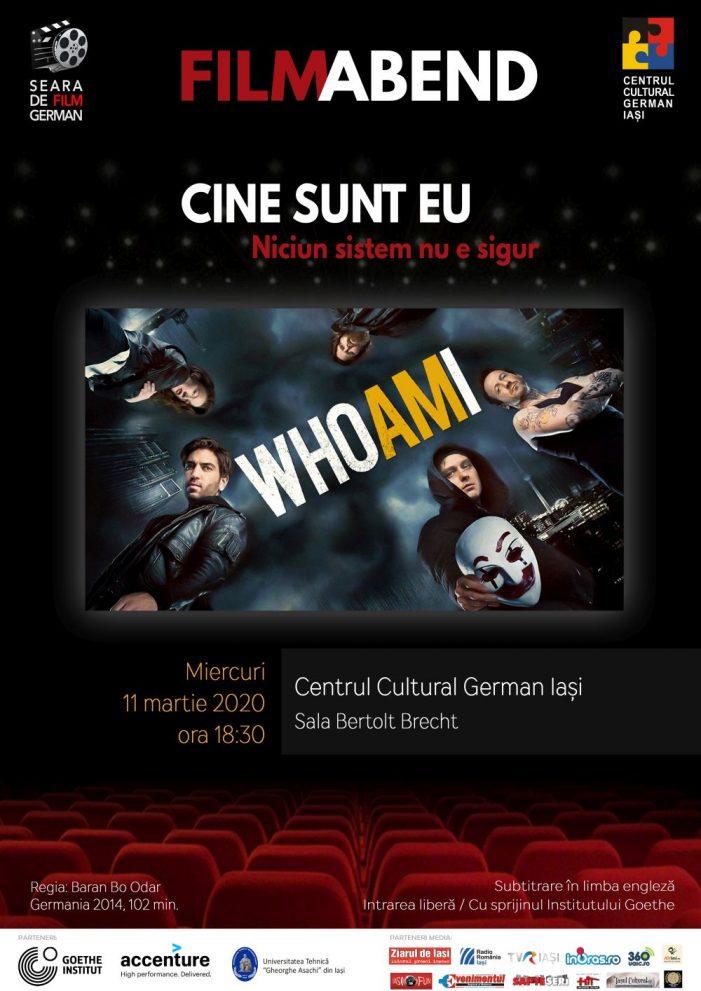 """Seara de film german """"Cine sunt eu – Niciun sistem nu e sigur"""" (Germania, 2014)"""