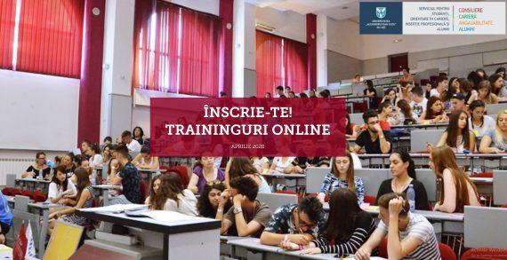 Traininguri online pentru studenții UAIC
