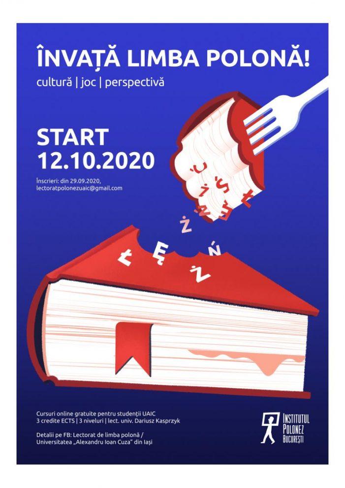 Cursuri facultative de limba polonă online