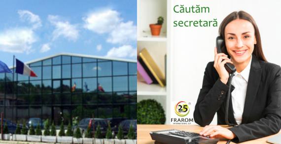 Frarom International Est recrutează secretar/ă
