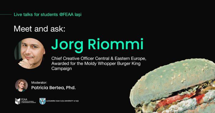 Despre Creativitate – întâlnire online cu un expert internațional la FEAA