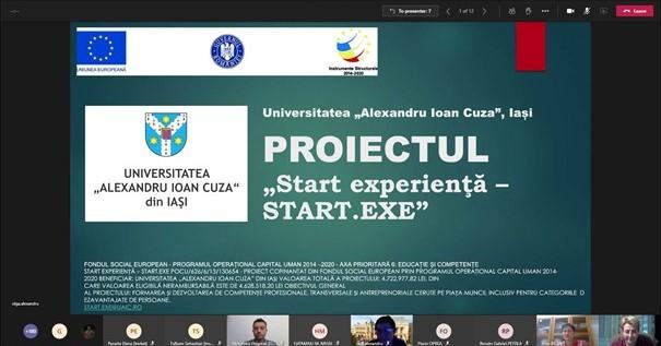 """Sute de participanți la Conferința de prezentare a Proiectului """"Start experienţă – START.EXE"""""""