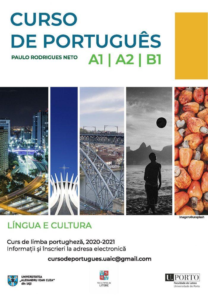 Curs de limba portugheză la UAIC